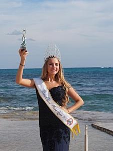 «Невеста» Егора Крида выиграла конкурс World Bikini Model 2015