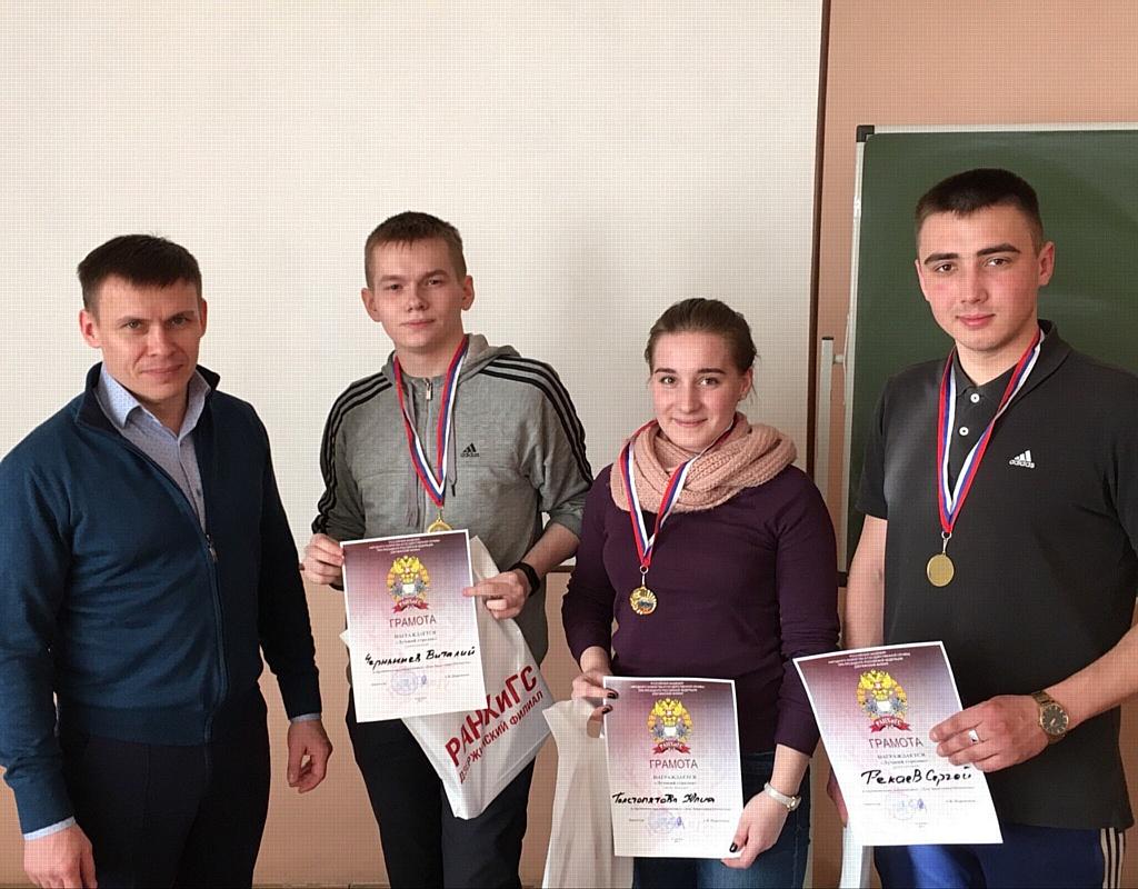 В Дзержинском филиале РАНХиГС отпраздновали «День защитника Отечества»