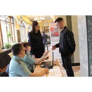 На ЖД вокзале «Томск I» посетители смогли узнать о своих долгах