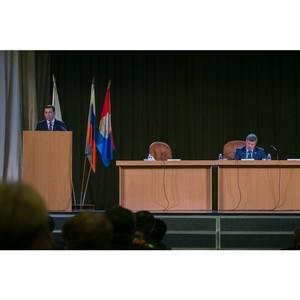 Обсуждение инициатив по развитию региона