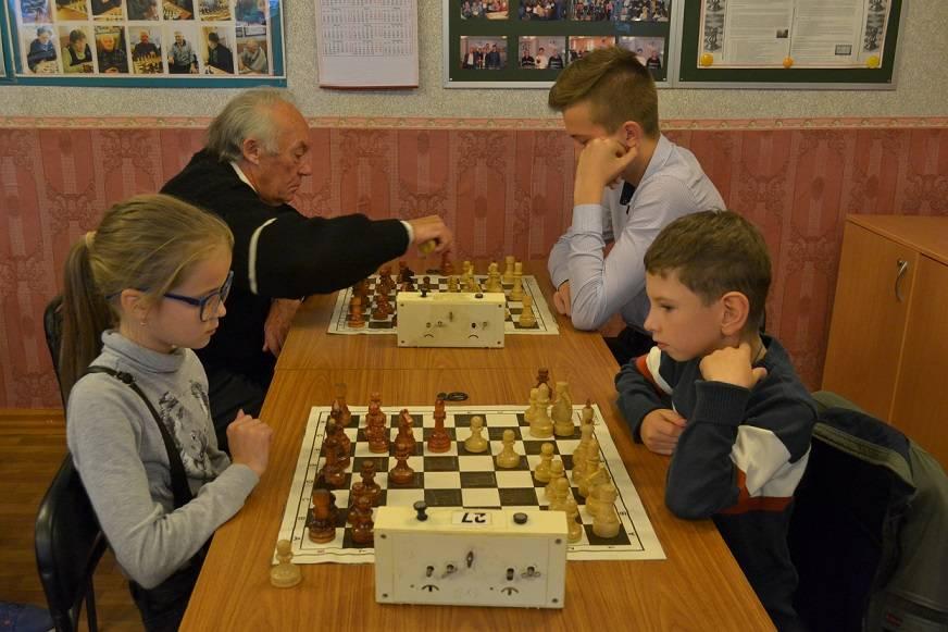 Шахматный турнир заводчан