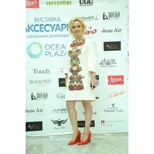 В ТРЦ Ocean Plaza состоялась уникальная выставка аксессуаров украинских дизайнеров