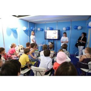 Волонтеры «Нестле ВотерКулерс Сервис» провели уроки для детей в рамках форума Экватэк - 2014