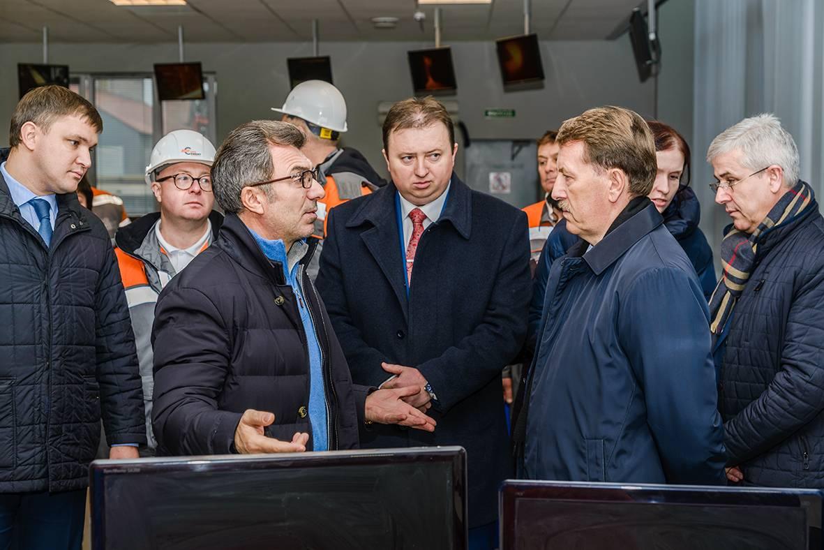 Алексей Гордеев и Филарет Гальчев открыли новую автодорогу в Подгоренском районе