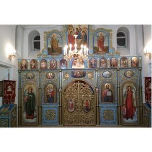 Иконостас для храма Рождества Богородицы в поселке Харп