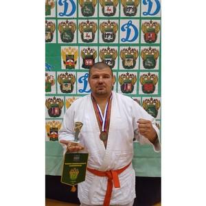 Смоленский таможенник - бронзовый призер чемпионата таможенных органов РФ по рукопашному бою