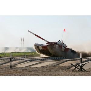 Российские экипажи победили на танках Уралвагонзавода