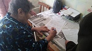 Хабарским отделом Управления Росреестра по Алтайскому краю исполнена давняя мечта вдовы ветерана