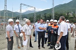 Глава ОАО «ФСК ЕЭС» проинспектировал олимпийские энергообъекты