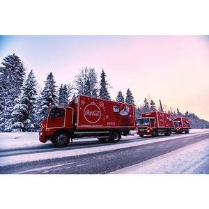 Рождественский караван Coca-Cola сотрудничает с фондом Е. Исинбаевой