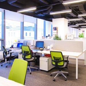 Интерьер для JF Hillebrand: офис на вырост
