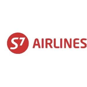 S7 Airlines увеличила пассажиропоток на 7,2%