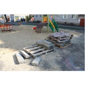 ОНФ сообщил властям о недоделках благоустройства дворов в Семилуках