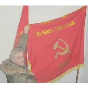 Музею Пограничного района Приморья передали копии боевых знамен