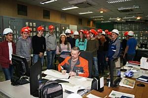 День энергосбережения студенты Марий Эл и Чувашии встретили на ТЭЦ «Т Плюс»