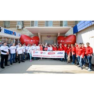 Донорский марафон «70 лет Победы» прошел в Волгограде