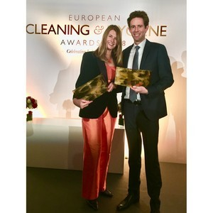 Компания Essity получила две награды European Cleaning Awards 2018